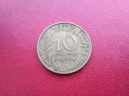FRANCE   10 Centimes  1965   -  Marianne - Francia