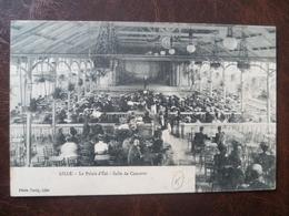 Carte  Le Palais D'été Salle De Concerts     -LILLE - Lille