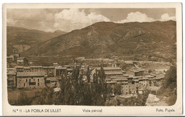 Postkarte La Pobla De Lillet  Vista Parcial  Foto Pujals  Neuve - Otros