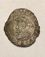 SUPERBE CAROLUS TYPE 5 : A L' écu Orné 1636 PHILIPPE V RARE EN L'ETAT - 476-1789 Monnaies Seigneuriales