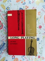 Catalogue Long Playing Mono Stereo 1961 Musique Classique - Other