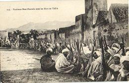 CPA AK MAROC TAZA Partisans BENI-Ouarain (23986) - Otros