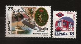 Espagne España 1994 N° 2913 / 4 ** Services Publics, Métro, Garde Civile, Police, Hélicoptère, Moto, Vedette, Escalade - 1931-Aujourd'hui: II. République - ....Juan Carlos I
