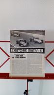 Ancienne Coupure De Presse Automobile L'histoire Matra F1 1968-1969 - Car Racing - F1