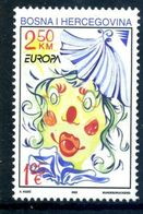 (!)  EUROPA CEPT De 2002  Thème Du Cirque  BOSNIE HERZEGOVINE  Y&T 372 Neuf(s) ** Mnh - 2002