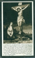 WO1 / WW1 - Doodsprentje Van Hees Jan Frans - Kalmthout / Eeklo  - Gesneuvelde - Obituary Notices