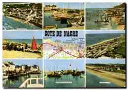 CPM Cote De Nacre Arromanches Courseulles St Aubin Sur Mr Luc Du Mer Ouistreham Asnelles - France