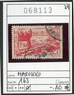 Marokko - Maroc - Michel 163 - Oo Oblit. Used Gebruikt - Marokko (1891-1956)