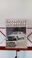 Ancienne Coupure De Presse Automobile Citroen GS 1015cc De 1971 - Voitures