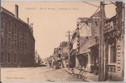 Chauny - Rue Du Brouage Institution Saint-Charles Boucherie Chevaline - Chauny