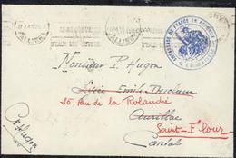 Guerre 39 45 FM Valise Diplomatique FM Vichy 27 X 40 Cachet Ambassade De France En Roumanie Attaché De L'air (avion) - WW II