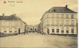 CPA / AK / PK   -  THOUROUT   Statiestraat   ( Hôtel  , Restaurant ) - Torhout