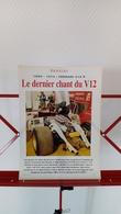 Ancienne Coupure De Presse Automobile Ferrari 312 P 1969-1974 - Car Racing - F1