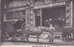 LIEGE Commerce BRASSINNE-GALOPIN Rue Pont D'Avroy 25 Attelage Cheval Charrette - Liege