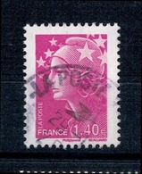 2010 N 4477 MARIANNE BEAUJARD 1.40 LILAS OBLITERE CACHET ROND #230# - Usati