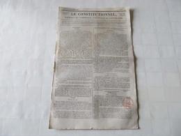 SALINS - UN NOUVEAU DESASTRE VIENT ENCORE DE FRAPPER LA VILLE DE SALINS - 1826 - Journaux - Quotidiens