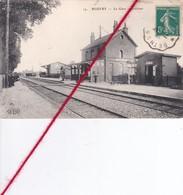 CP 62 - BEUVRY -   La Gare - Intérieur - Beuvry