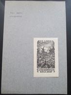 Moulin Molen Ex Libris Thys Mauve - Ex-libris