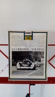 Ancienne Coupure De Presse Automobile Howmet TX De 1967 - Racing
