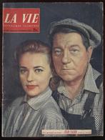 La Vie Catholique N° 528 18 Sept.1955 Jean Gabin En Couverture Port France 3,80€ - Informations Générales