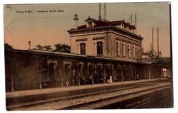 Choisy-le-Roi - Intérieur De La Gare - édit. Non Identifié  + Verso - Choisy Le Roi
