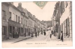 Vaujours - Rue De Coubron - édit. Caille  + Verso - France