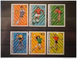 Bulgaria 1980. Yvert 2536-41 ** MNH - Ungebraucht