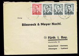 Marchand: 924 X 3 + 925 / Lsc Bruxelles 13 2 55 => Allemagne - Belgique