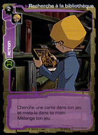 TCG CODE LYOKO - Recherche à La Bibliothèque - 012 - Trading Cards