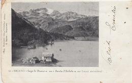 BACENO (VERBANIA) - LAGO DI DEVERO E PUNTA D'ARBOLA (VALLE AMIGORIO) - VIAGGIATA 1902 - Novara