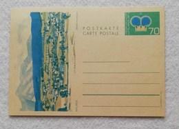 "Cartolina Postale Da 70c. ""Mauren"" - Non Viaggiata - Stamped Stationery"