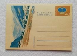 "Cartolina Postale Da 40c. ""Steg-Triesenberg"" - Non Viaggiata - Stamped Stationery"