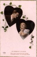 Lot 5 Cartes Couples LE LIERRE ET LE COEUR  ARS RV - Couples