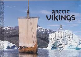 Groenland, Histoire Des Viking En Arctique Dans Un Livret Spécial TP N° 318 à 321, 326 à 329, 340 à 343 + Les 3 Blocs - Polar Philately