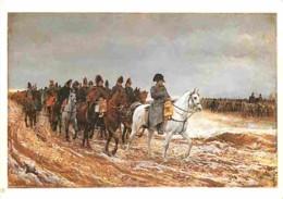 Art - Peinture - Ernest Meissonier - Campagne De France De 1814 - Histoire - CPM - Voir Scans Recto-Verso - Paintings
