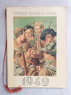 ESERCITO Ispettorato Arma Di Fanteria 1949 Interno A COLORI RARO PERFETTO Alpini Bersaglieri Paracadutisti Cavalleria - Calendarios