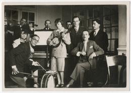 Orchestre De Jazz Improvisé Avec Femme Au Banjo, Tirage Original D'époque, C 1935 FG0804 - Photos