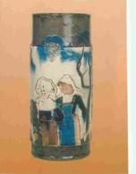 Art - Divers - Vase Décoré De Scènes Bretonnes - Grès Et émail - France, Chaplet; Décor émaillé De Paul Gauguin, Vers 18 - Otros