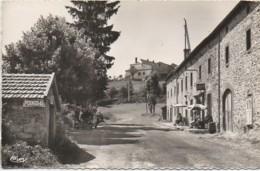 15 VEDRINES-St-LOUP Une Rue Du Village , Hôtel Delolmes (carte Rare) - Altri Comuni