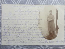 61 SEES CARTE PHOTO MILITAIRE SOLDAT DESOUBZLEBIEN HARAS DU PIN - Sees