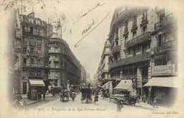 PARIS  Perspective De La Rue Etienne Marcel RV - Distrito: 02