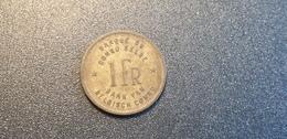 CONGO BELGE : 1 Francs 1944 - 1934-1945: Leopold III
