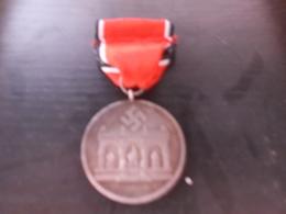 Medaille Allemande  39  45 - France