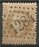 France - Napoleon III Et/ou Cérès - Oblitération Sur N°28B - GC 1284 DECAZEVILLE (Aveyron) - Marcophilie (Timbres Détachés)