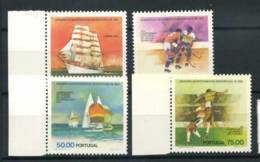 Portugal 1982 Mi. 1558-1561 Neuf ** 100% Sport '' Lisbonne Sail '' - Nuovi