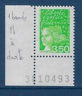 "FR Variété YT 3092a "" Luquet 3.50F Vert "" Neuf** 1 Bande De Phosphore à Droite - Variétés: 1990-99 Neufs"