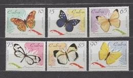 Cuba 1995 Kuba Mi 3823-3828 Butterflies / Schmetterlinge / Papillons / Farfalle / Mariposas / 蝴蝶 / 蝶 / Những Con Bướm - Papillons