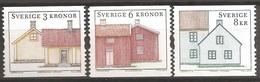 SUEDE 2004 (Yvert 2397-99) - Architecture (MNH) Sans Trace De Charnière - 034 - Ungebraucht