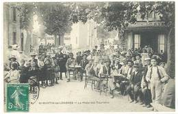 SAINT MARTIN DE LONDRES - La Place Des Touristes  (396 ASO) - France