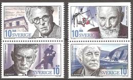 SUEDE 2004 (Yvert 2404-07) - Prix Nobel Em. Conj. Irlande  (MNH) Sans Trace De Charnière - 035 - Ungebraucht